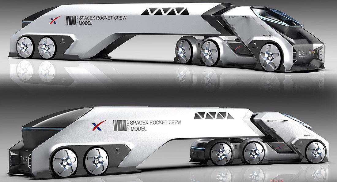 Марсианский грузовик SpaceTruck 2
