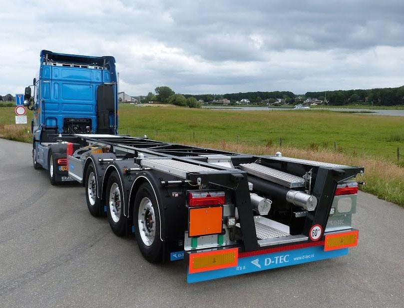 D-TEC разработал 20-футовый контейнеровоз 2