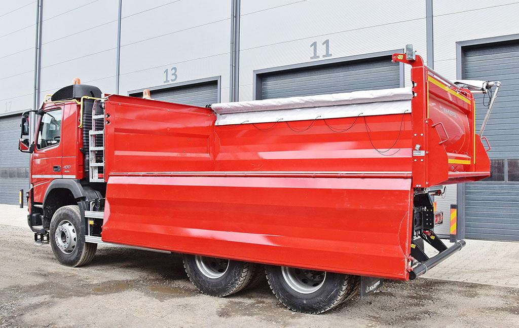 Новый трехсторонний кузов KH-KIPPER 2
