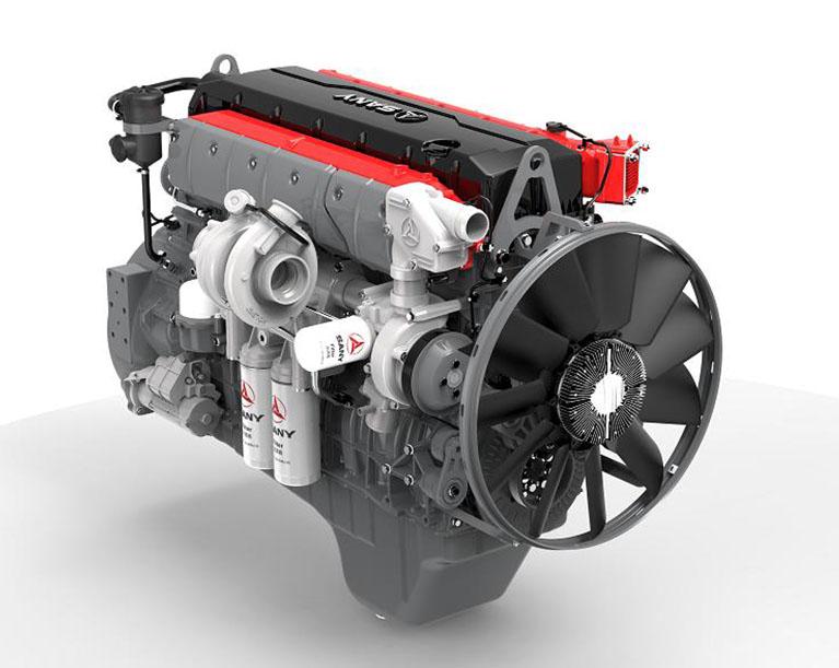 Дизельный двигатель от SANY и Deutz 2