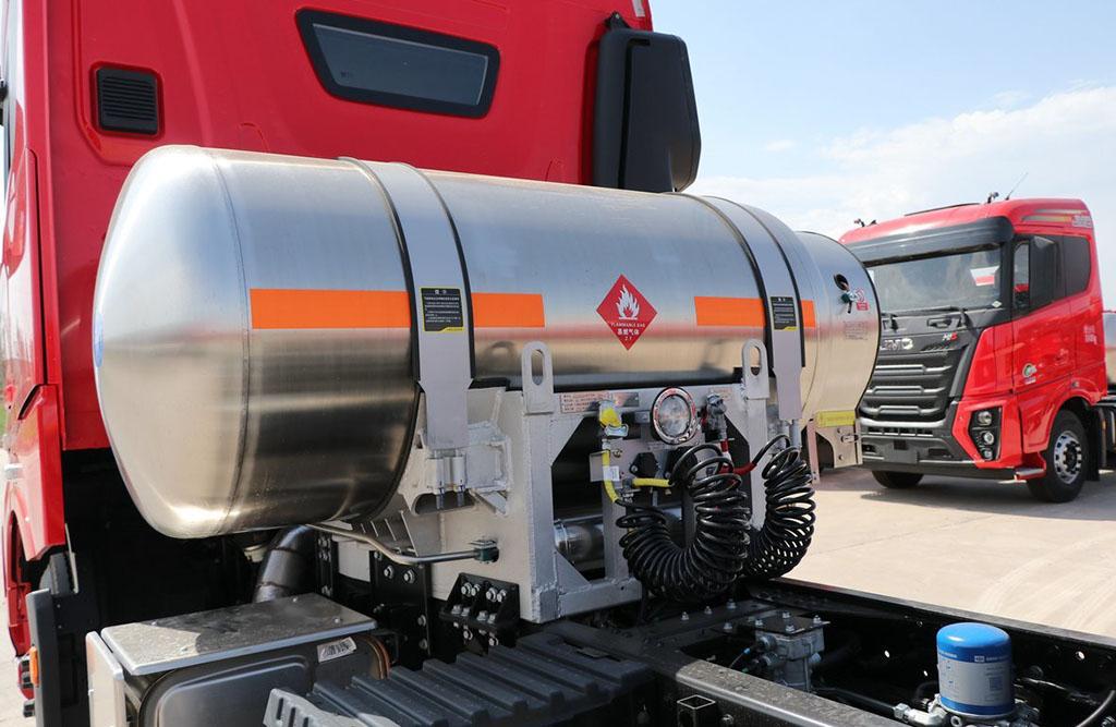 Новый газовый тягач JMC 4