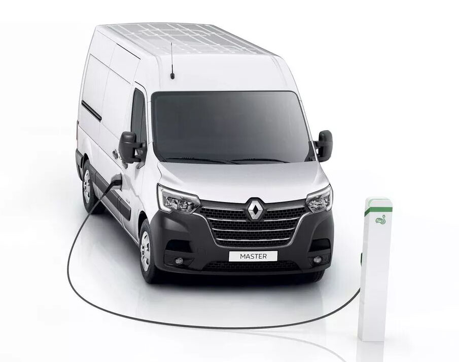 Расширение электрического диапазона Renault Master Z.E.