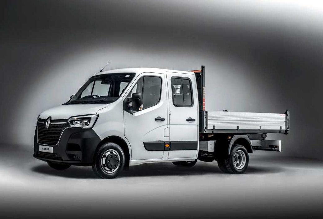 Расширение электрического диапазона Renault Master Z.E. 3