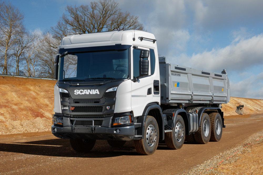 Самосвал Scania G 450 XT B 6x4 HZ 2