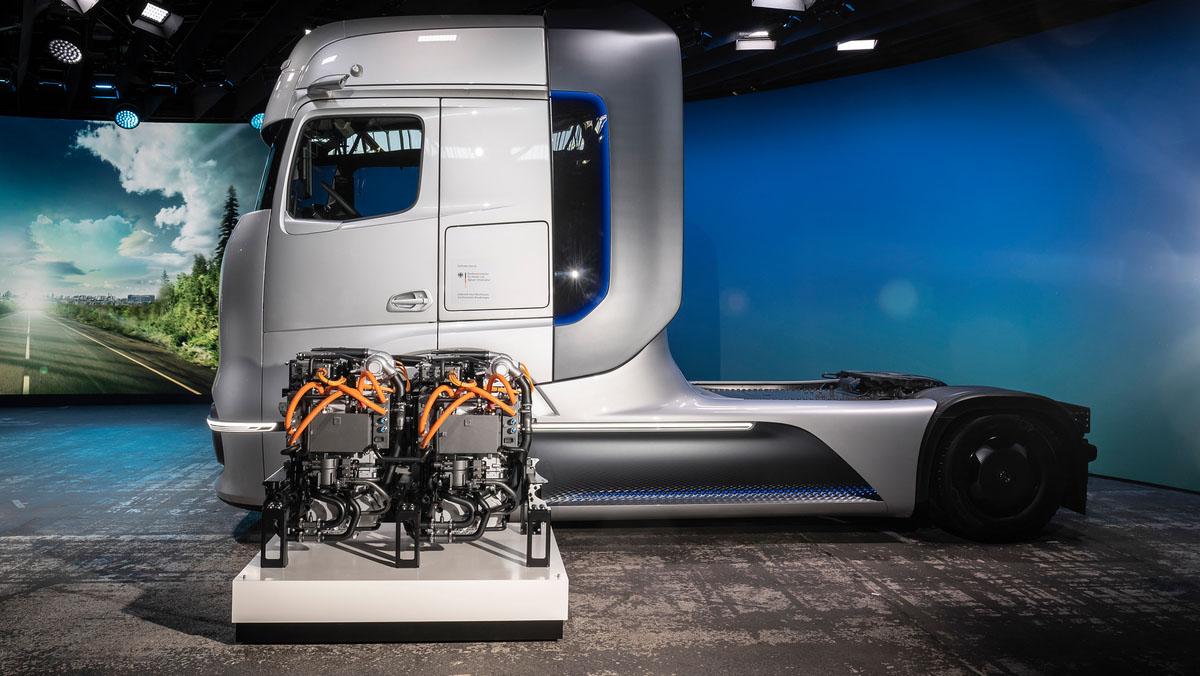 Daimler показал свой водородный концепт