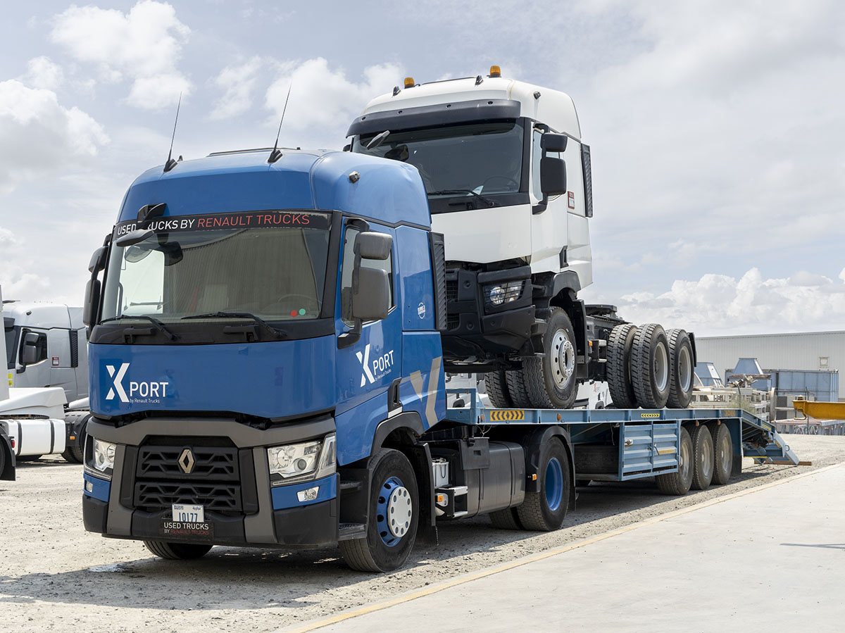 Renault Trucks начала модернизацию грузовиков 4