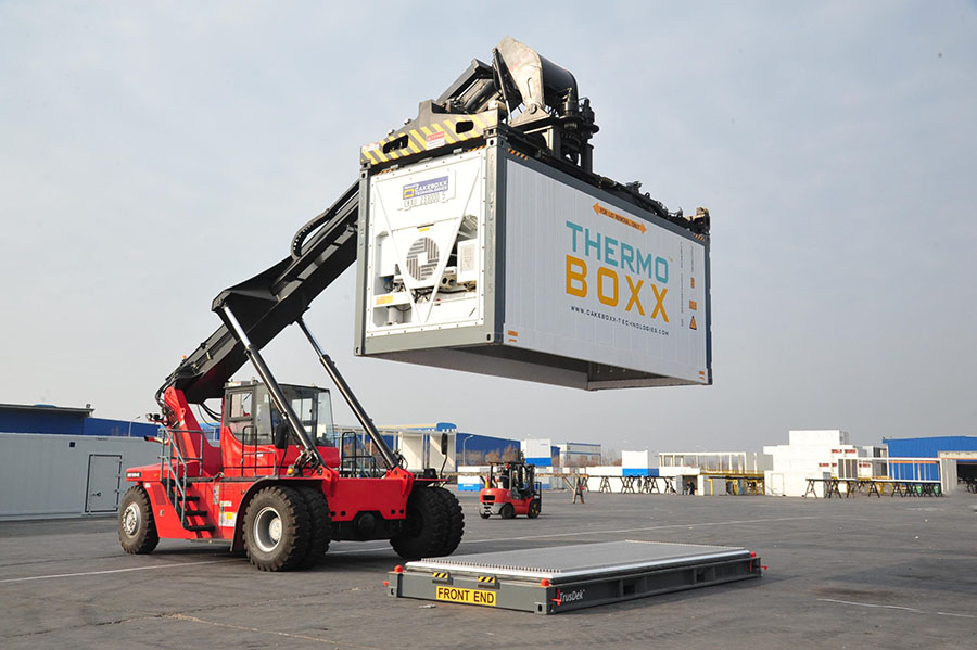 Новый разъемный контейнер CakeBoxx