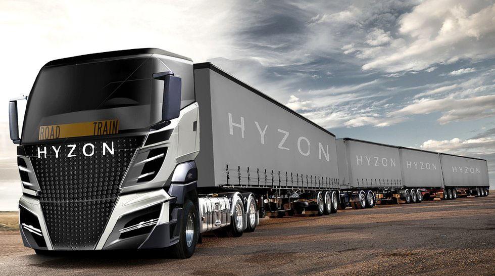 Многообещающий Hyzon 2