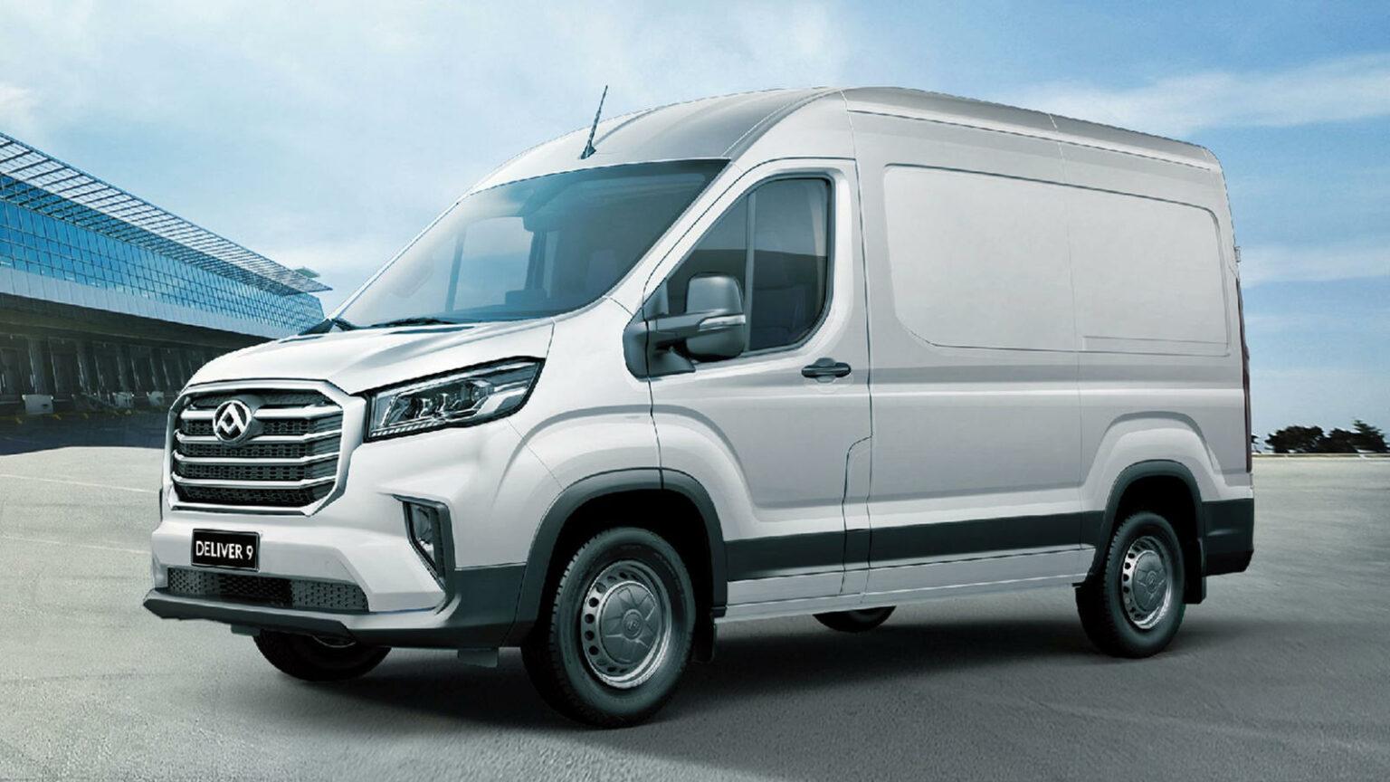 SAIC: большие планы нового компактного фургона Maxus