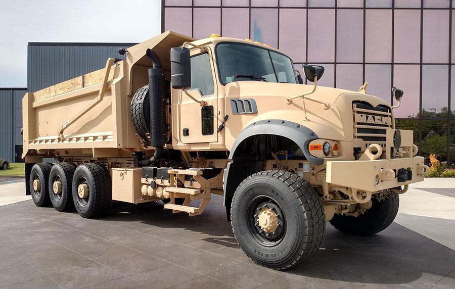 Mack подготовил грузовики для армейских испытаний 3