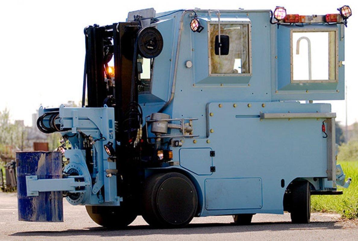 R70N RESCASSE - транспортер для радиоактивных материалов