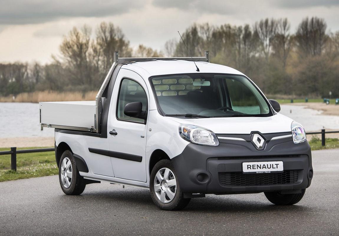 Renault Kangoo превратили в маленький самосвал
