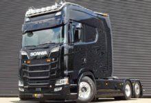 Photo of Необычно большая кабина для тягача Scania.