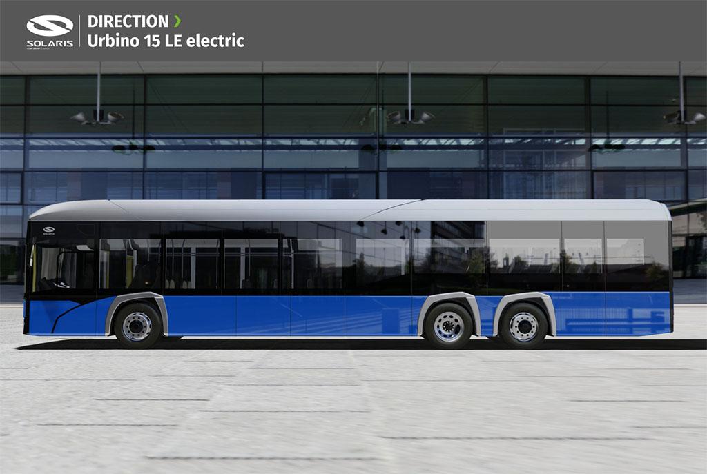 Solaris показал портфолио своего нового электробуса 2