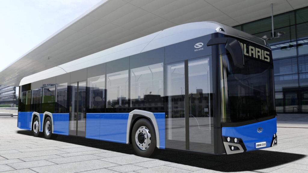 Solaris показал портфолио своего нового электробуса 5