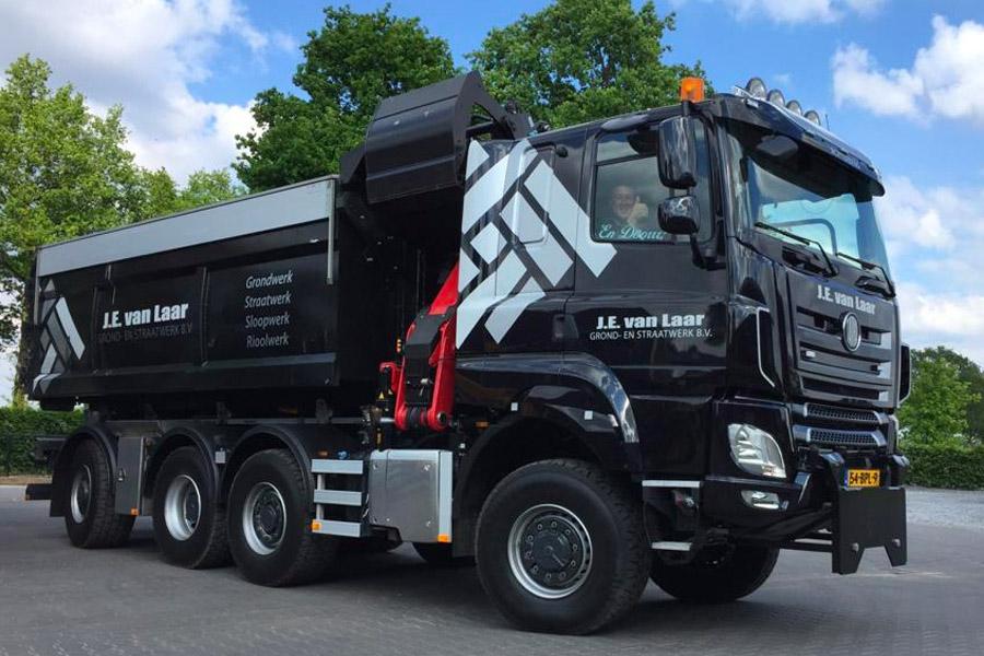 Универсальный грузовик 4