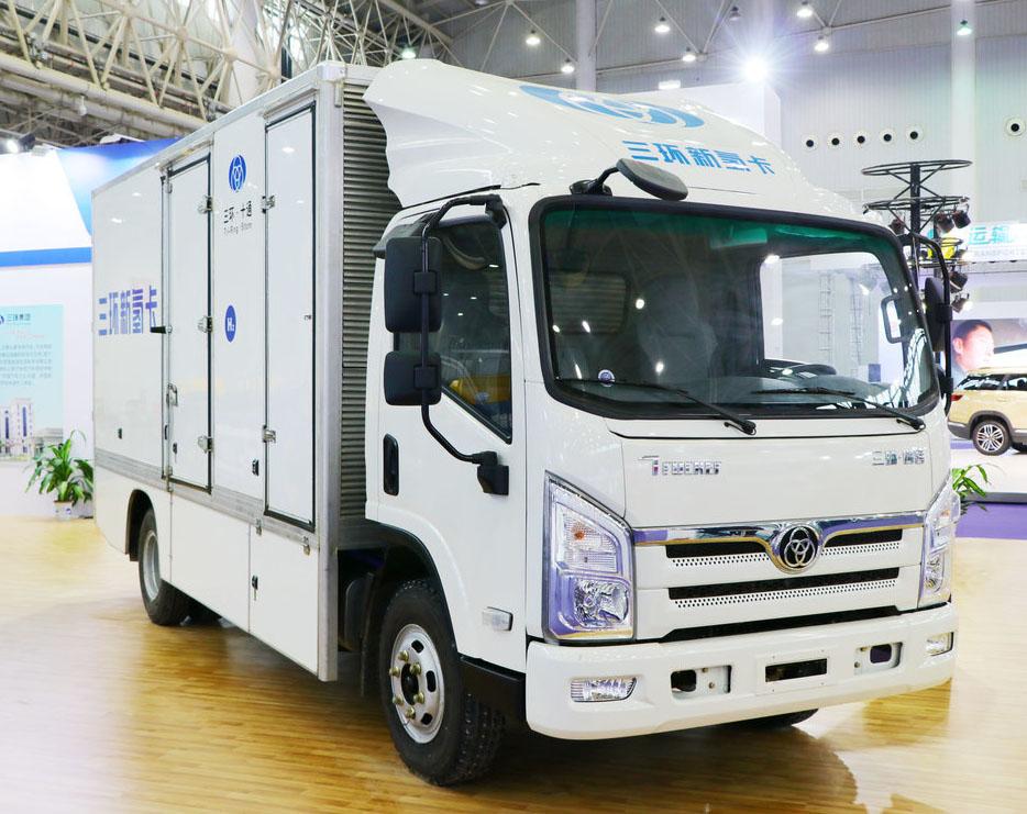 Водородный грузовичок Tri-Ring