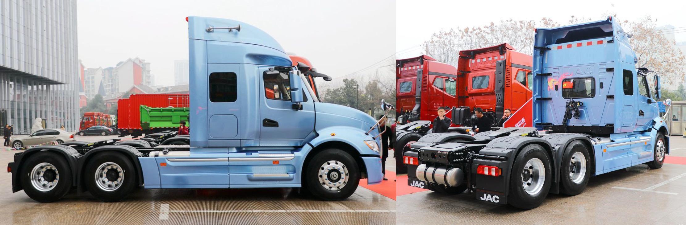 Китайский клон «ProStar» получил двигатель Евро-6 2