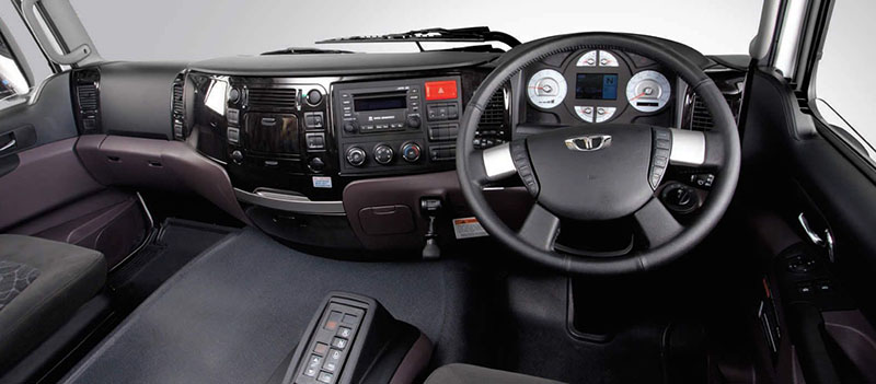 Новейший Daewoo Maximus кабина