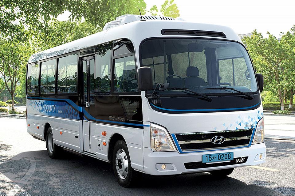Hyundai разработал свой первый миниэлектробус