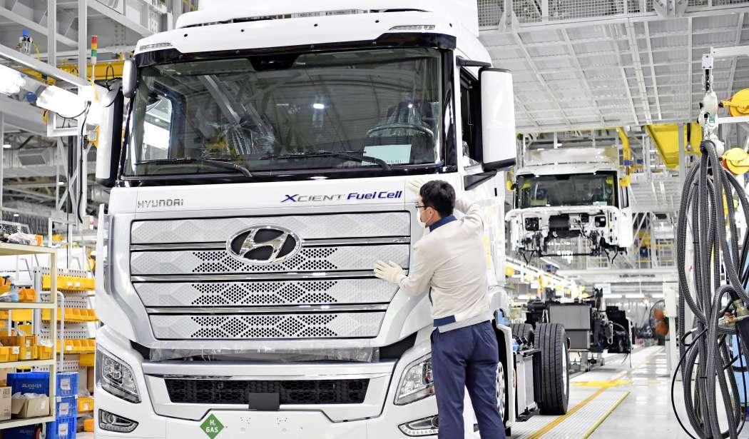 Hyundai озвучил свои водородные планы