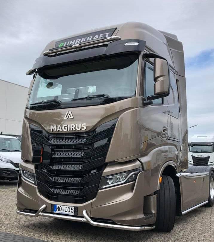 В Германии вновь «возродили» марку Magirus