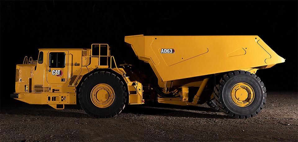Новый подземный грузовик от Caterpillar 2
