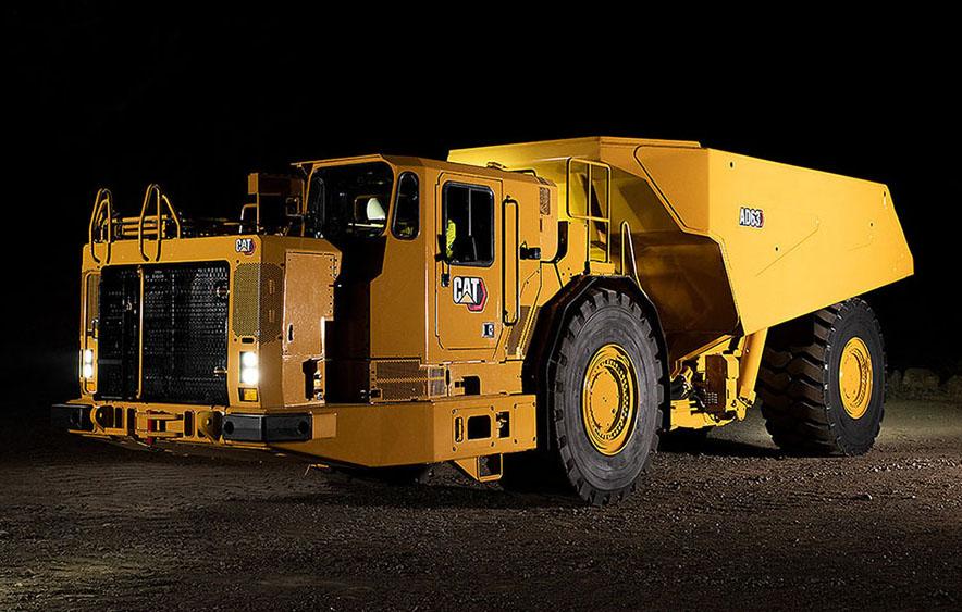 Новый подземный грузовик от Caterpillar