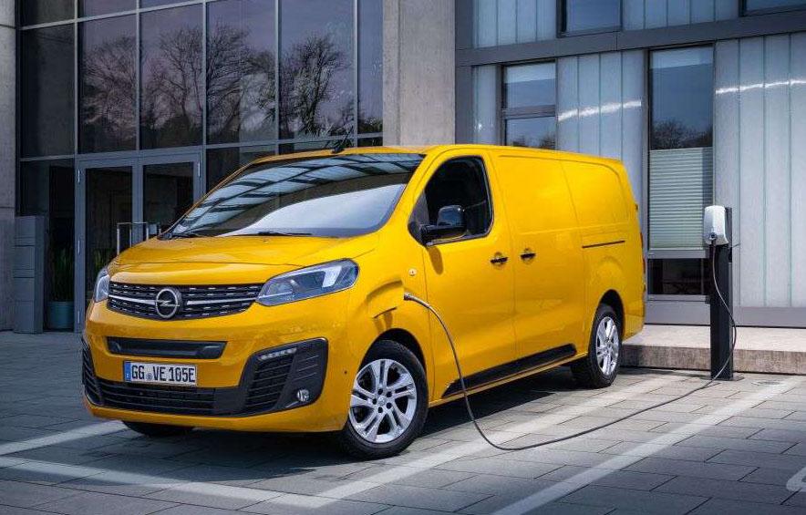 Электрофургон Opel выходит на рынок