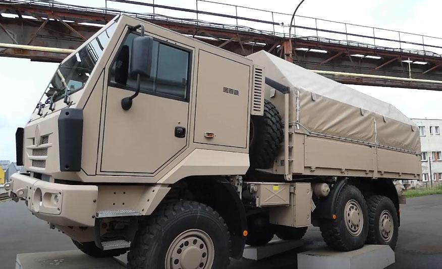Диапазон Tatra Tactic пополнился моделью 6x6 2