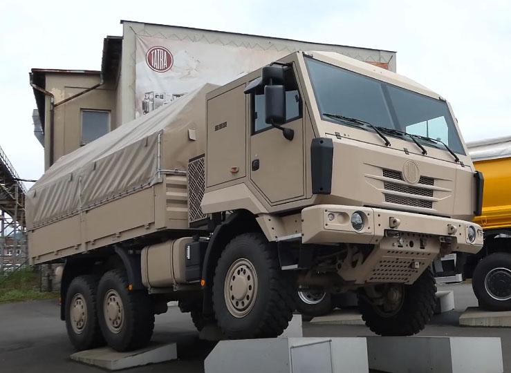 Диапазон Tatra Tactic пополнился моделью 6x6