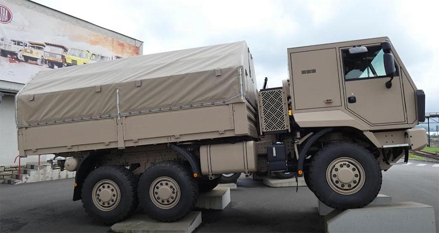 Диапазон Tatra Tactic пополнился моделью 6x6 3