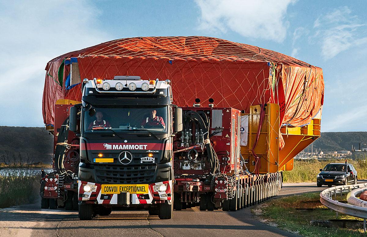 «Мамонт» осилил 430 тонн!