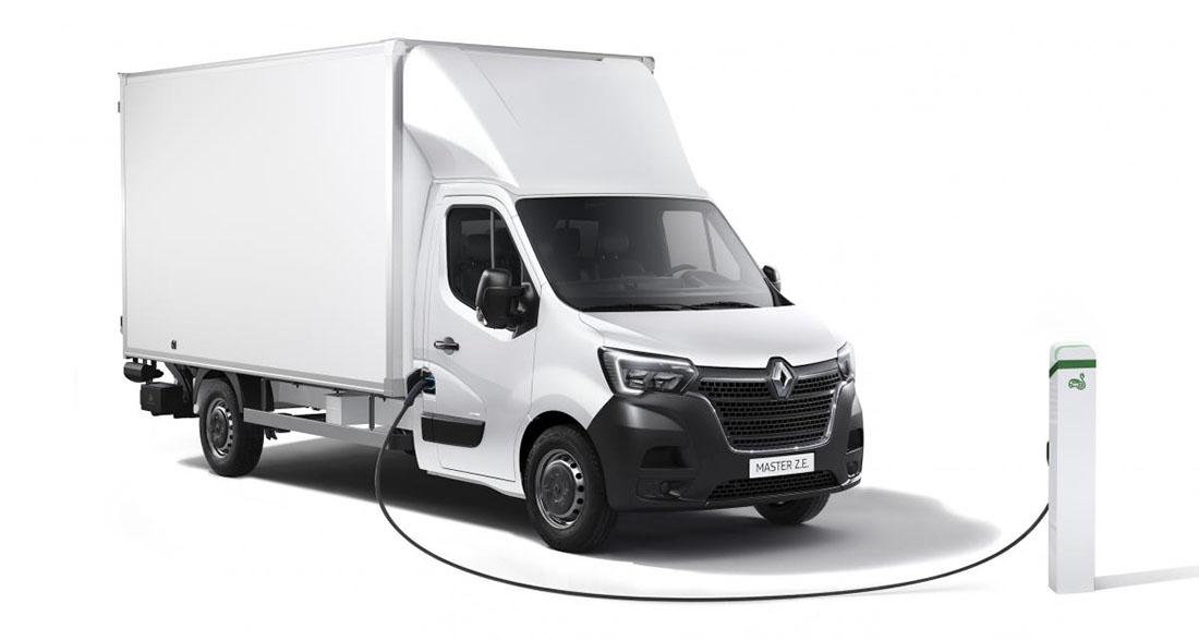 Расширение электрического диапазона Renault Master Z.E. 2