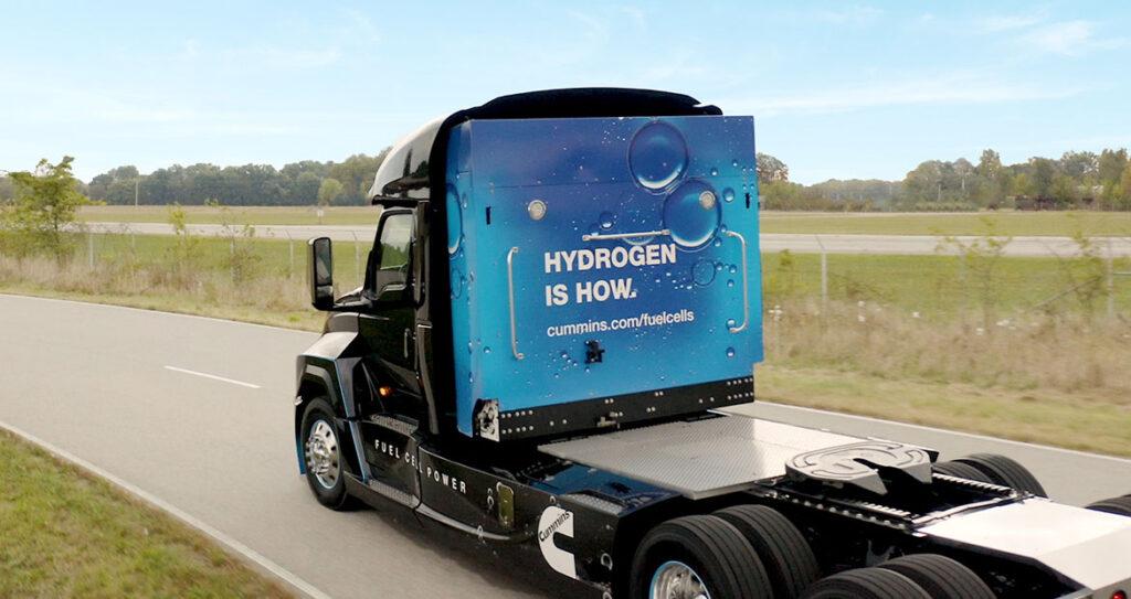 Cummins и Navistar создают водородный грузовик 2