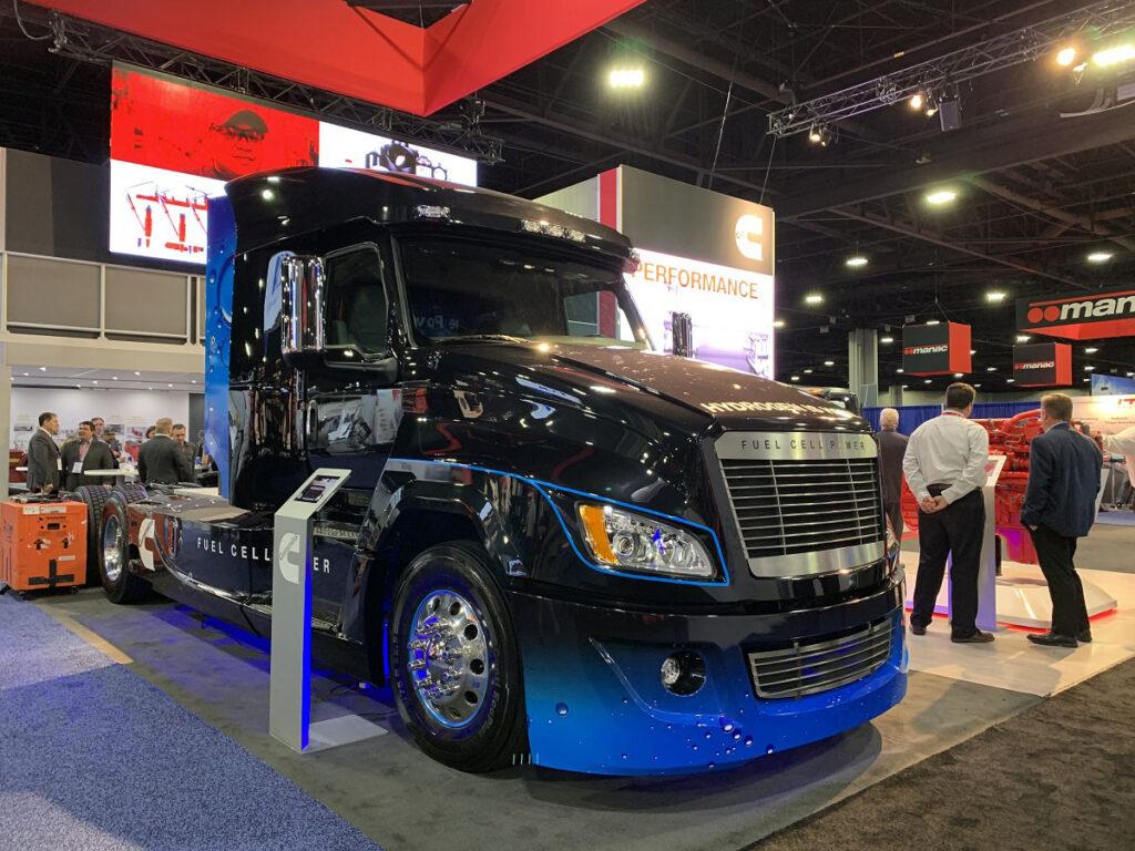 Cummins и Navistar создают водородный грузовик 4