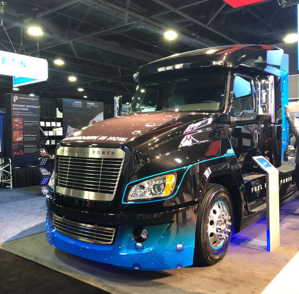 Cummins и Navistar создают водородный грузовик 3