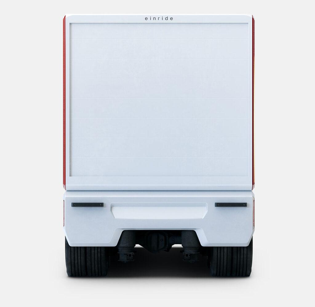 Einride модернизирует свой ящик на колесах 5