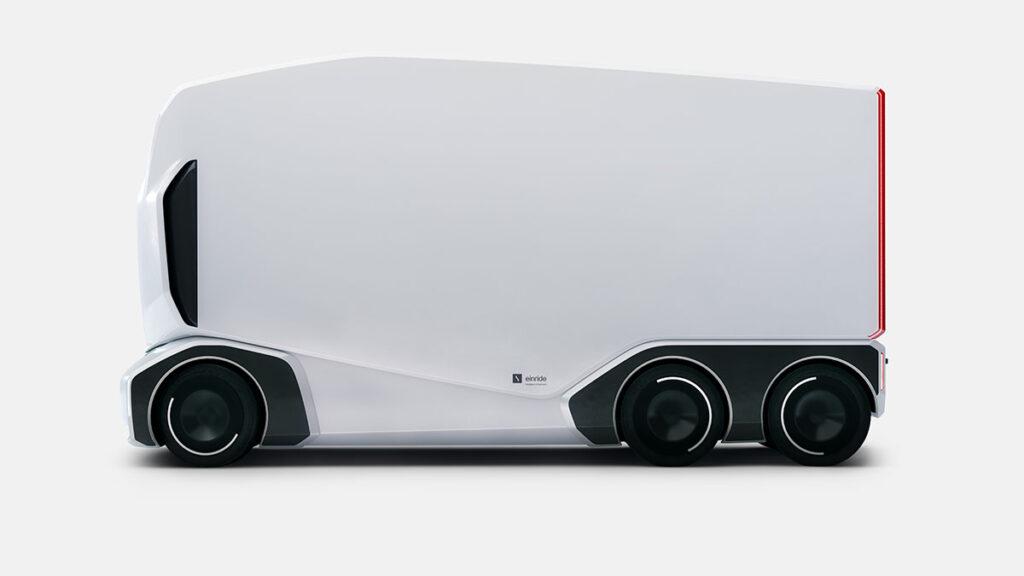 Einride модернизирует свой ящик на колесах 4
