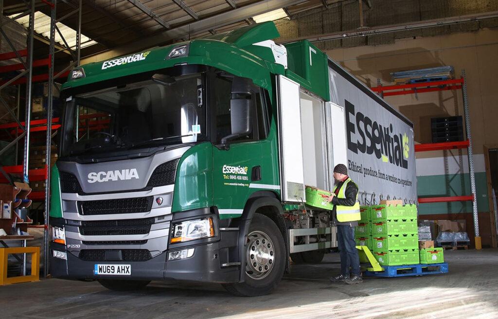 Совмещенный кузов грузовика 2