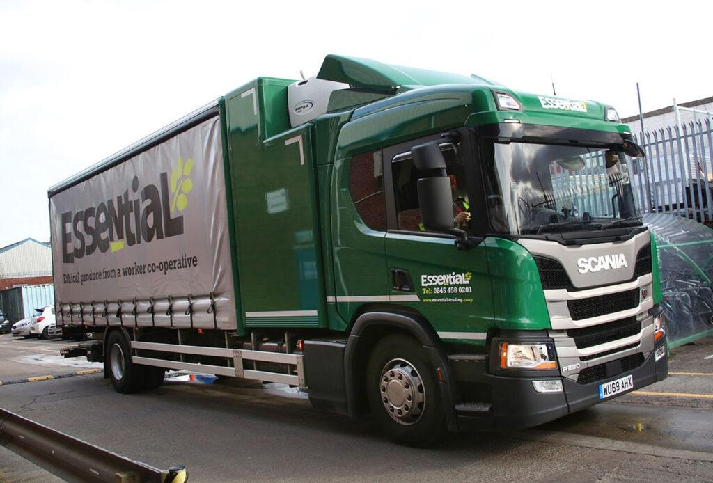 Совмещенный кузов грузовика