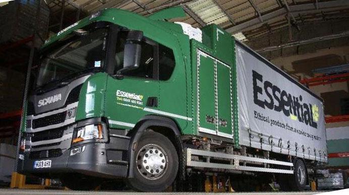 Совмещенный кузов грузовика 3