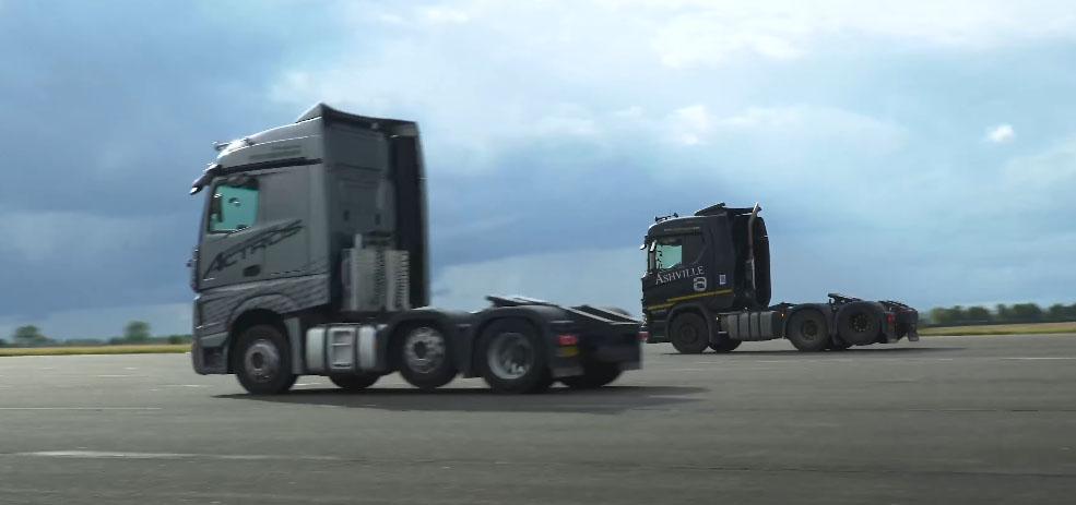 Драг-рейсинг для седельных тягачей Mercedes и Scania 6