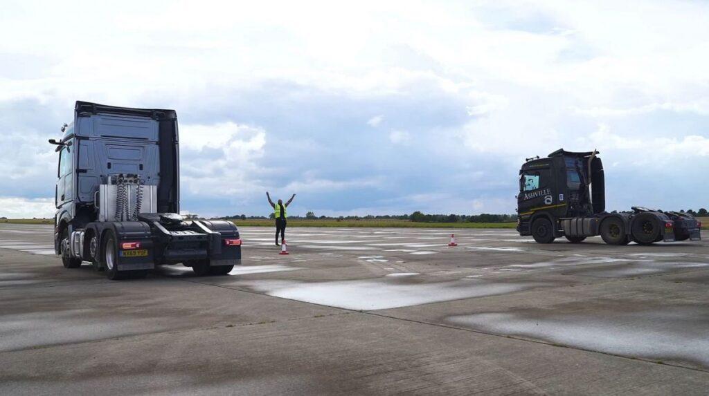 Драг-рейсинг для седельных тягачей Mercedes и Scania 3