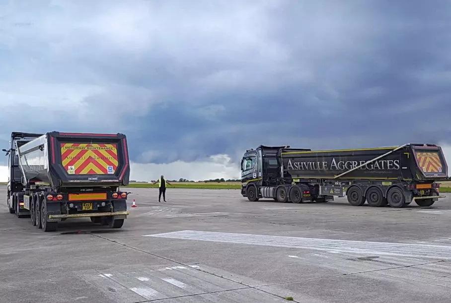 Драг-рейсинг для седельных тягачей Mercedes и Scania 10