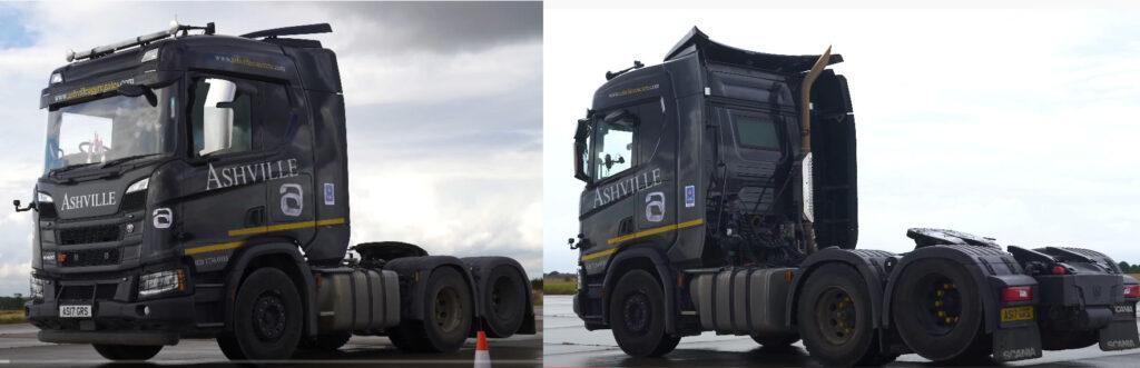 Драг-рейсинг для седельных тягачей Mercedes и Scania 5