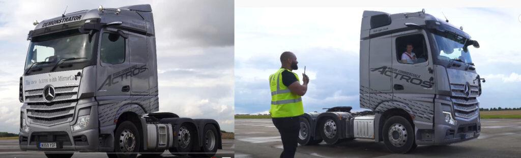 Драг-рейсинг для седельных тягачей Mercedes и Scania 4