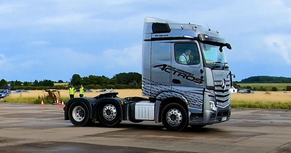 Драг-рейсинг для седельных тягачей Mercedes и Scania 7