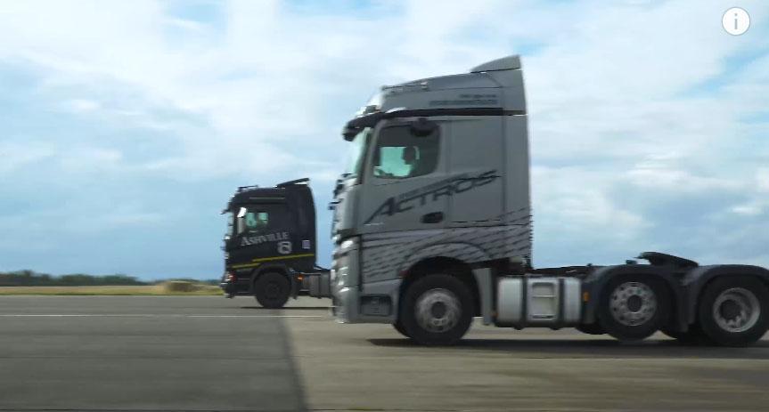 Драг-рейсинг для седельных тягачей Mercedes и Scania 8