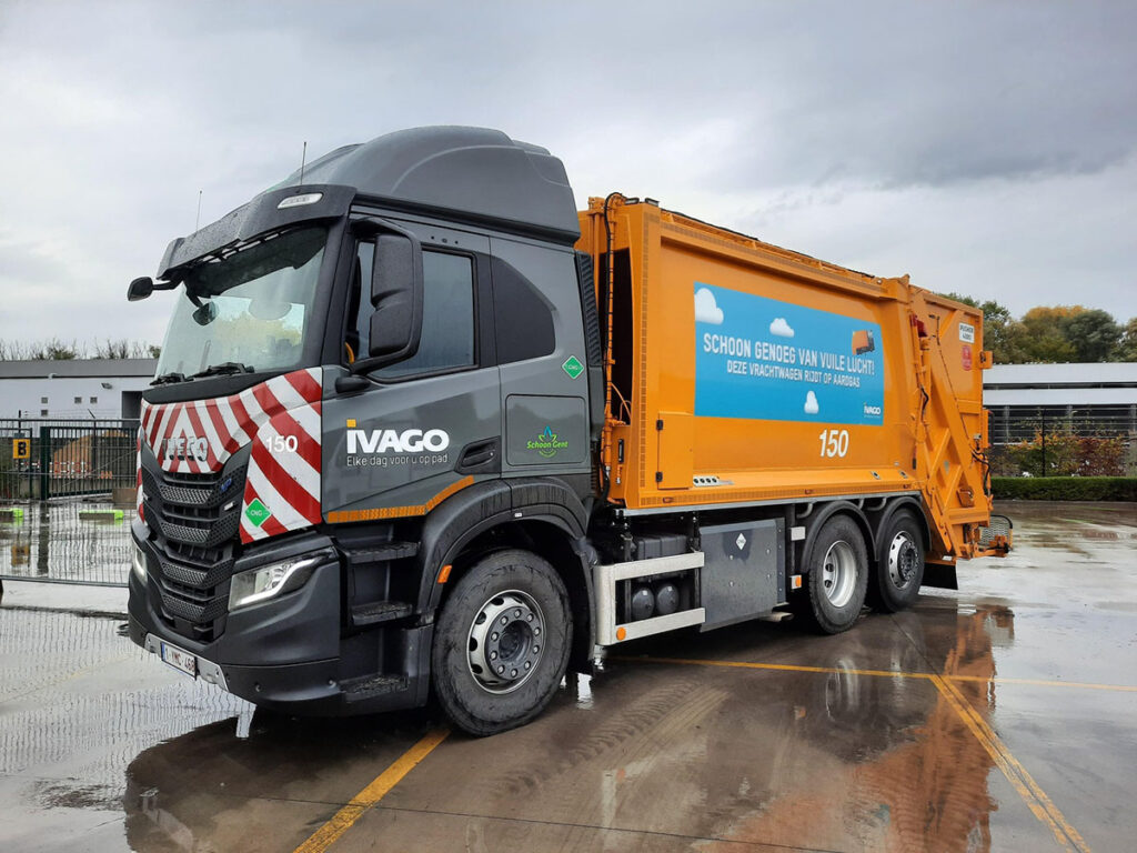 В Бельгии появились мусоровозы Iveco S-Way и с узкой кабиной